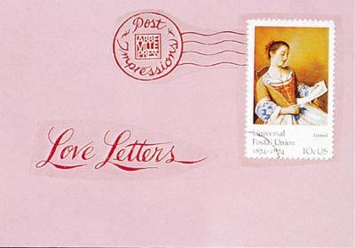 Love Letters From the Post Impressions Series by JoAnna Poehlmann