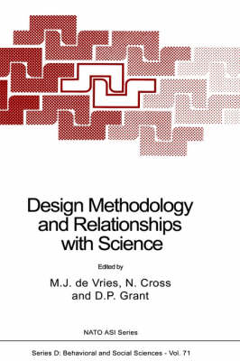 Design Methodology and Relationships with Science by Marc J. De Vries
