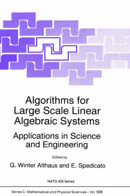 Algorithms for Large Scale Linear Algebraic Systems: Applications in Science and Engineering by Gabriel Winter Althaus