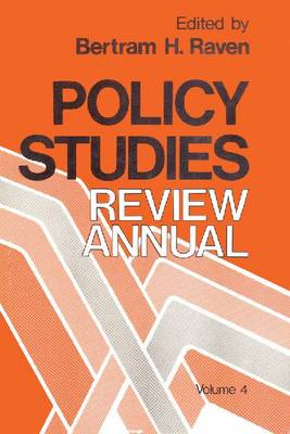Policy Studies Review Annual Volume 4 by