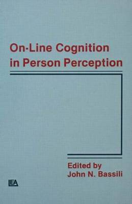 On-Line Cognition in Person Perception by John N. Bassili