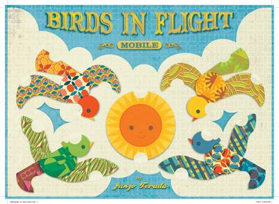 Birds in Flight Mobile by Junzo Terada