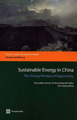 Sustainable Energy in China The Closing Window of Opportunity by