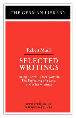 Selected Writings by Robert Musil