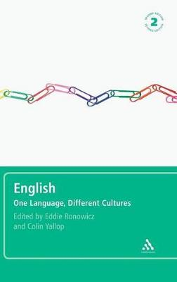 English One Language, Different Cultures by Eddie Ronowicz