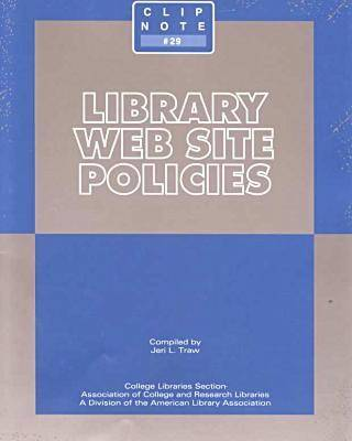 Library Web Site Policies by
