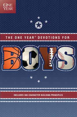 One Year Book of Devotions for Boys by Tyndale