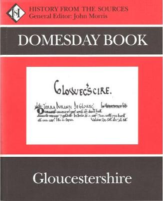 Domesday Book Gloucestershire (hardback) by John Morris