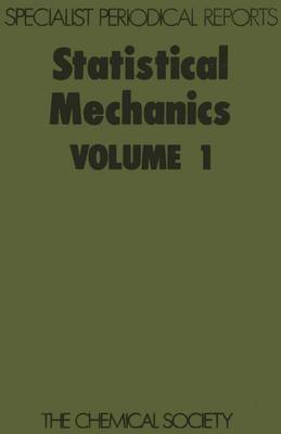 Statistical Mechanics Volume 1 by Konrad Singer