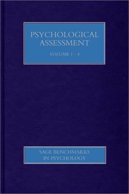 Psychological Assessment by Gregory J. Boyle
