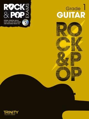 Trinity Rock & Pop Exams: Guitar Grade 1 by