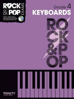 Trinity Rock & Pop Keyboards Grade 4 by