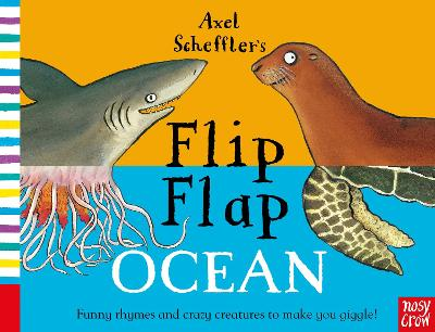 Cover for Axel Scheffler's Flip Flap Ocean by Axel Scheffler