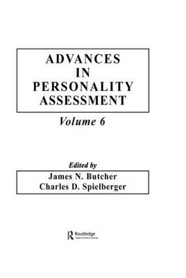 Advances in Personality Assessment by James N. Butcher