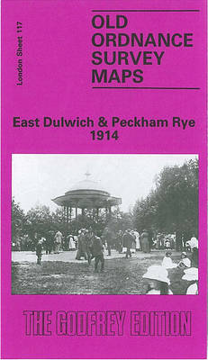East Dulwich and Peckham Rye 1914 London Sheet 117.3 by Mary Boast