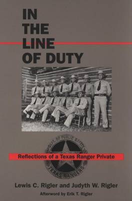 In the Line of Duty by Rigler L