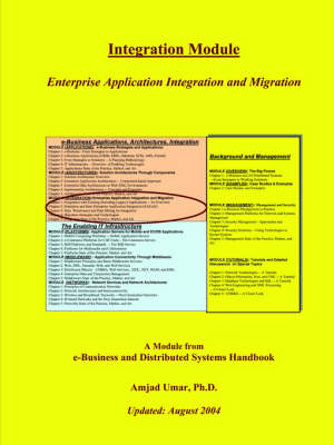 E-Business and Distributed Systems Handbook Integration Module by Amjad (Bell Communications Research, Piscataway, NJ) Umar