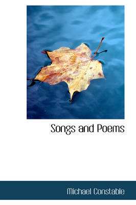 Songs and Poems by Michael Constable