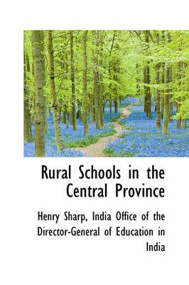 Rural Schools in the Central Province by Henry Sharp