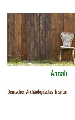 Annali by Deutsches Archologisches Institut