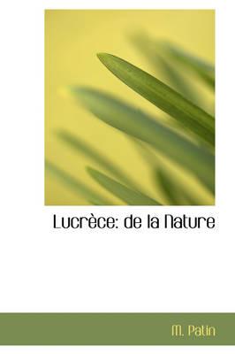 Lucr Ce de La Nature by M Patin