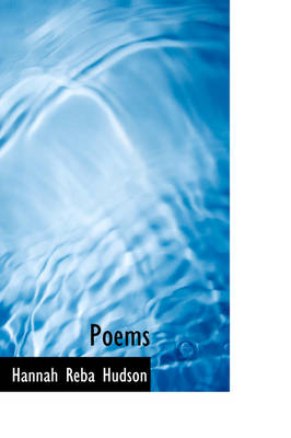 Poems by Hannah Reba Hudson