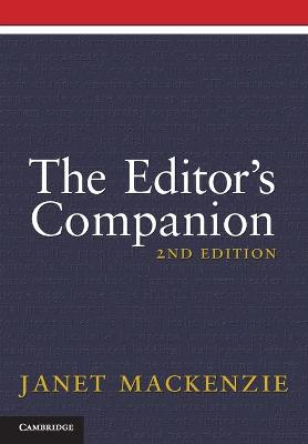 The Editor's Companion by Janet MacKenzie