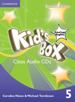 Kid's Box American English Level 5 Class Audio CDs (3) by Caroline Nixon, Michael Tomlinson