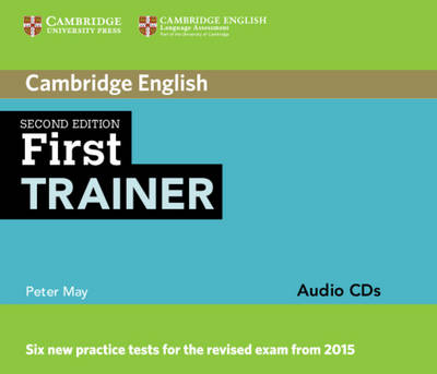 First Trainer Audio CDs (3) by Peter May