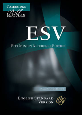 ESV Pitt Minion Reference Edition ES442:X Black Imitation Leather by