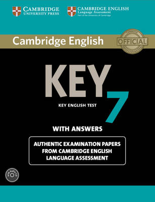 Cambridge English Key 7 Student's Book Pack (Student's Book with Answers and Audio CD) Authentic Examination Papers from Cambridge English Language Assessment by