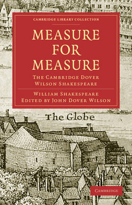 Measure for Measure The Cambridge Dover Wilson Shakespeare by William Shakespeare