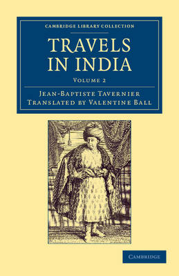 Travels in India by Jean-Baptiste Tavernier