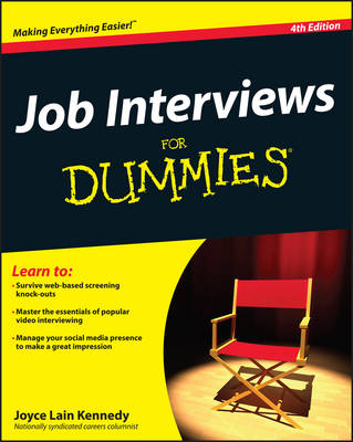 Job Interviews for Dummies, 4th Edition by Joyce Lain Kennedy