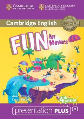 Fun for Movers Presentation Plus DVD-ROM by Anne Robinson, Karen Saxby