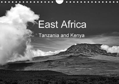East Africa - Tanzania and Kenya / UK-Version 2018 Black and White Photography: Wildlife, Landscape, People in Tanzania Und Kenya by Wolfgang A. Langenkamp