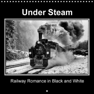 Under Steam Railway Romance in Black and White 2018 Steam Locomotives in Fantastic Black and White. by Marion Maurer