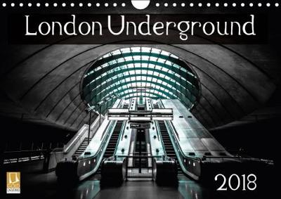 London Underground 2018 2018 Photographs of Some of London's Iconic Underground by Simon Hadleigh-Sparks