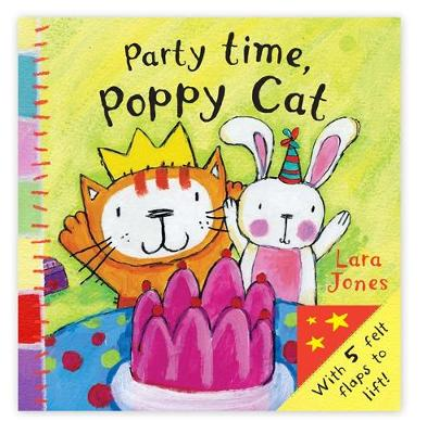Poppy Cat Peekaboos: Party Time, Poppy Cat by Lara Jones