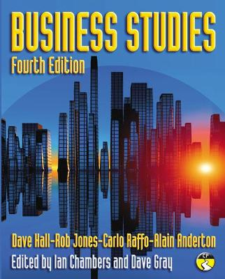 Business Studies by Dave Hall, Rob Jones, Carlo Raffo, Alain Anderton