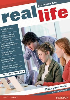 Real Life Global Pre-Intermediate Teacher's Handbook by Melanie Williams