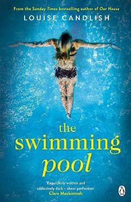 Cover for The Swimming Pool by Louise Candlish