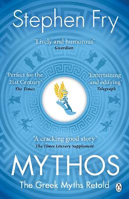 Cover for Mythos The Greek Myths Retold by Stephen Fry
