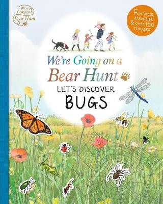 Cover for We're Going on a Bear Hunt: Let's Discover Bugs by
