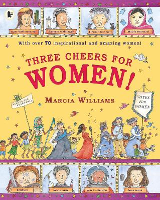 Cover for Three Cheers for Women! by Marcia Williams