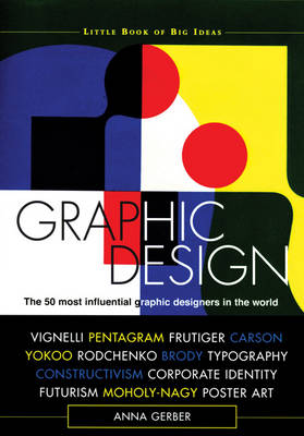 Graphic Design The 50 Most Influential Graphic Designers in the World by Anna Gerber, Christopher Mount