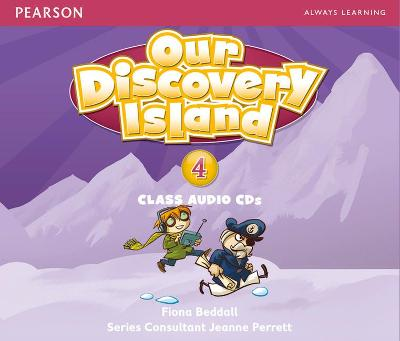 Our Discovery Island Level 4 Audio CD by Fiona Beddall