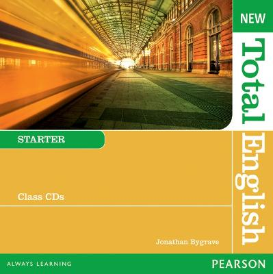 New Total English Starter Class Audio CD by Jonathan Bygrave