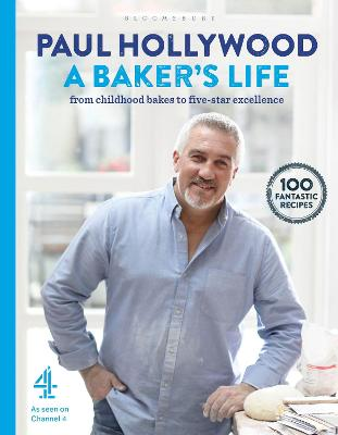Cover for A Baker's Life by Paul Hollywood