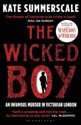 Cover for The Wicked Boy by Kate Summerscale